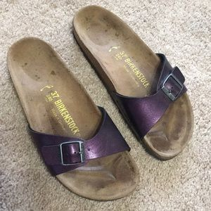 BIRKENSTOCK MADRID METALLIC PURPLE